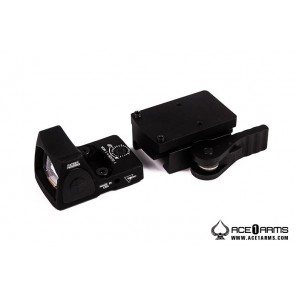 ACE 1 ARMS Gen2 RMR Dot sight with QD Mount ( Black)