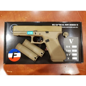 WE G17F Gen 5 GBB pistol(TAN/TAN)