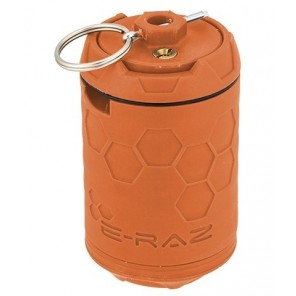 E-RAZ 100RDS AIRSOFT GRENADE ROTATIVE, Orange