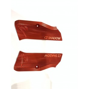 KJW CZ shadow 2 grip panel set (Red)