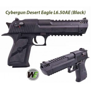 (Per-Order Item) CYBERGUN LICENSED DESERT EAGLE .50 L6 GBB PISTOL (BLACK)