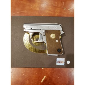 Cybergun licensed Colt .25 GBB Pistol with Marking (Silver)