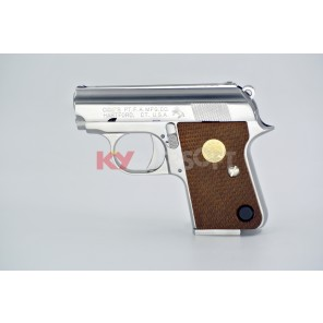 WE CT25 GBB Pistol (Silver, Horse marking)