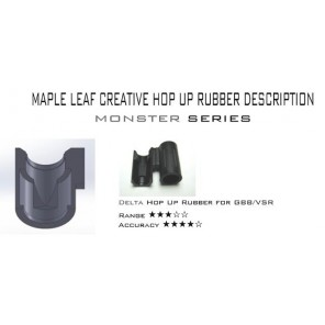 Maple Leaf Delta Rubber Hop Up for TM/WE GBB (80°)