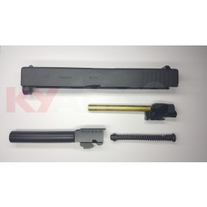 WE G17 BK complete upper receiver ( Compatible with both GEN3 and GEN4 WE G17)