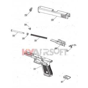 G #G-01 SEMI GBBP Frame / Lower Receiver