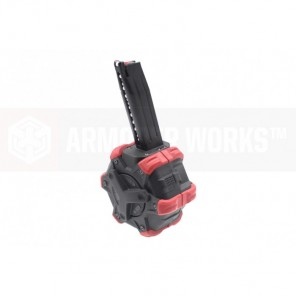 AW Customs - ADAPTIVE 300RDS DRUM MAGAZINE - (Hi-Capa) HX SERIES