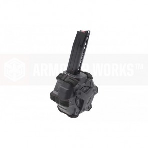 AW Customs - ADAPTIVE 300RDS DRUM MAGAZINE - (Hi-Capa) HX SERIES(BLACK)