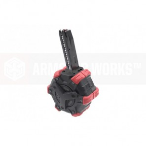 AW Customs - ADAPTIVE 300RDS DRUM MAGAZINE - (M9) MB SERIES