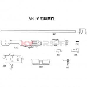 M4 Open Bolt Kit #7 GBBR