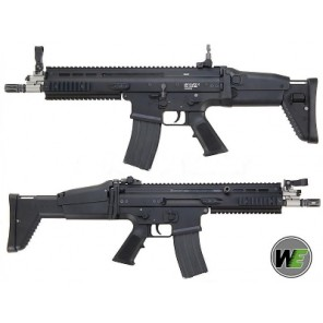 Cybergun Licensed WE FN SCAR L (MK16) GBBR Black