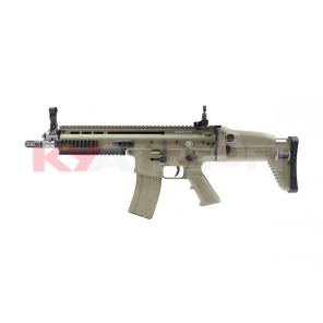 Cybergun Licensed WE FN SCAR L (MK16) GBBR TAN