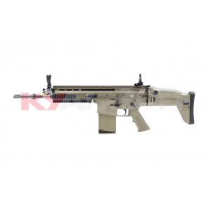 Cybergun Licensed WE FN SCAR H (MK17) GBBR TAN