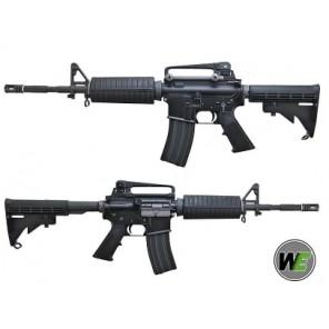 WE M4A1 GBBR BK OB