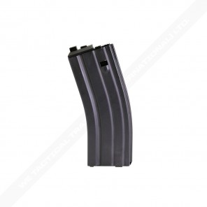 WE 30rd Open Bolt M4/SCAR GAS Magazine VERSION 2 (Black)