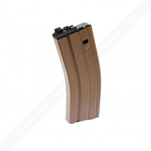 WE 30rd Open Bolt M4/SCAR GAS Magazine VERSION 2 (TAN)