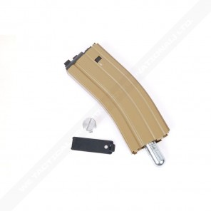 WE 30 Round Open Bolt CO2 Magazine for M4 /M16 / SCAR/L85/T91/PDW series (Tan)