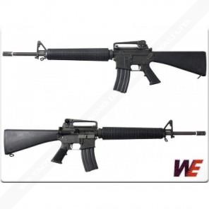 WE M16A3 GBBR Black