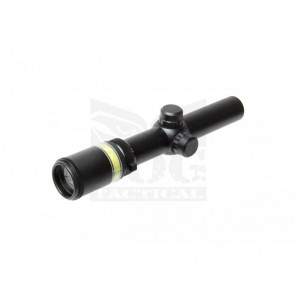 BOG SSC3101 1.5-6X24 optic fiber rifle scope (Green)