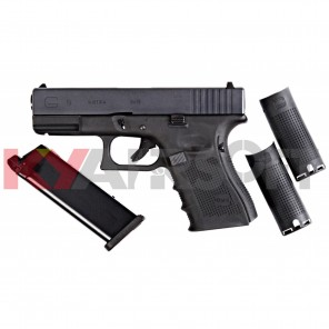 WE G19 GEN4 BK with extra magazine(Bundle)