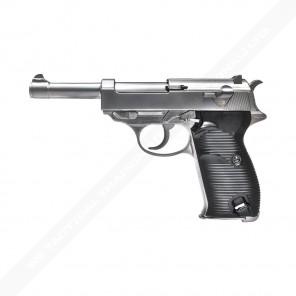 WE P38 Silver Classic GBB Pistol