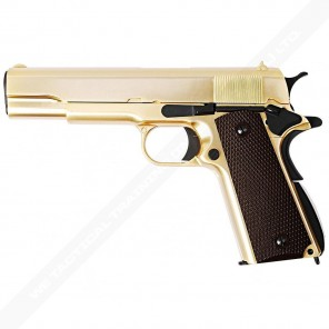 M1911 GOLD BR GRIP Full Marking