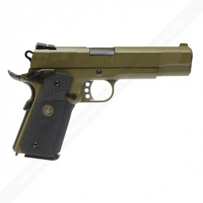 WE-E008-OD MEU-OD Full Metal Airsoft GBB Pistol
