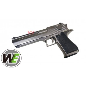 WE - Cybergun licensed Desert Eagle .50 Cal GBB pistol with marking (Silver)