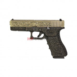 WE G17 Classic Floral Pattern - Bronze W/CASE