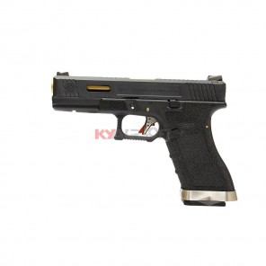 WE G17 T1 (BK/GD//BK)  (2 Magazine bundle)