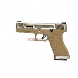 WE G17 T4 -  SV Slide / GD Barrel / TAN Frame