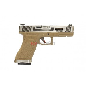 WE G17 T8 - SV Slide/SV Barrel/TAN Frame