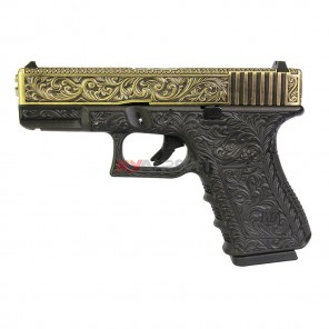 WE G19 Classic Floral Pattern Bronze