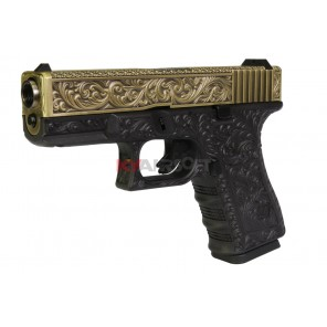 WE G19 Classic Floral Pattern Ivory