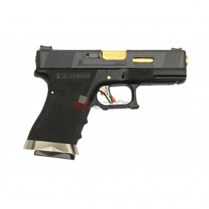 WE G19 T1 BK/GD/BK  (2 Magazine bundle)