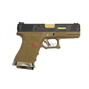 WE G19 T6 BK/GD/TAN