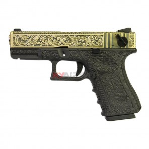 WE G23 Classic Floral Pattern Bronze