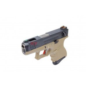WE G26 T2 BK/SV/TAN