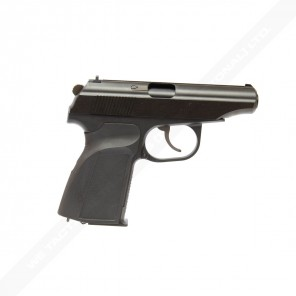 WE Metal MAKAROV GBB Pistol with Silencer Black