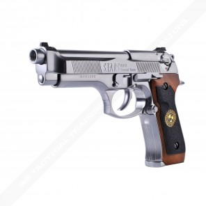 WE BioHazard M92 (Gen 2) AUTO Silver