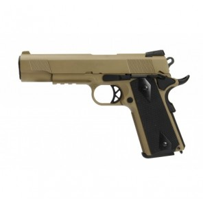 WE 1911 MEU TAN with Rail (Full Marking)