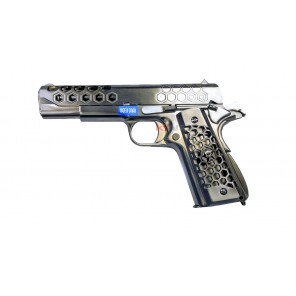 WE 1911 Hex Cut Silver GEN2 GBBP
