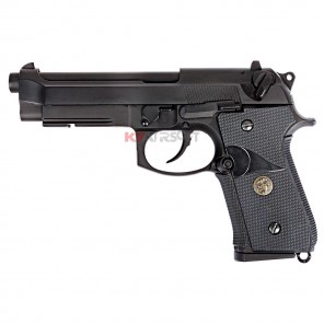 WE M9A1 BK Full Metal Rubber Grip  (USMC ver.)