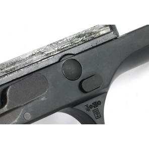 Steel Disassembling Latch for Marui M9/M92F Series - Black
