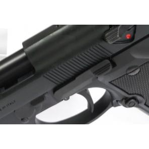 Steel Slide Stop for Marui M9/M92F Series - Dark Gray