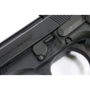 Steel Disassembling Latch for Marui M9/M92F Series - Dark Gray