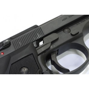 Steel Trigger Lever for Marui M9/M92F Series - Dark Gray