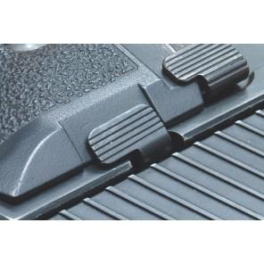 Steel Slide Catch Lever for MARUI/KJ/WE P226 (Stainless Sliver)