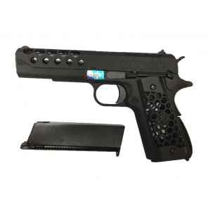 WE 1911 Hex Cut Black GEN2 GBBP
