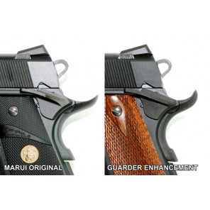 Steel Grip Safety for Marui MEU - Black